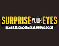 Surprise Your Eyes - Logo and Exhibition Design