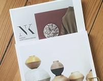 Folder and cards, Oslo Design Fair / NK / 2016