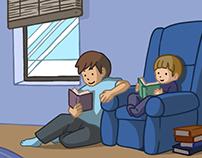 WDM Public Library Winter Reading Program Graphics
