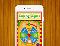 Lucky Spin Visual Design fro Gamewheel