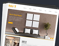 Web Page for Interior Design