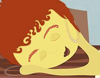 Pasos para Dormir Plácidamente en Clase // Illustration