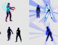 Neon Girls - VJ Loop Pack (5in1)