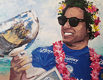 Adriano de Souza - Mineirinho Acrylic on Canvas 100x150