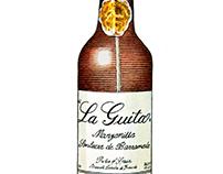 GQ Magazine: Bottle Illustration