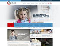Özel Safa Eğitim Kurumları Web Sitesi Tasarımı