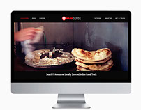 Naansense Food Truck Website