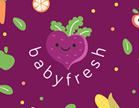 babyfresh - Brand Identity