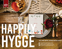 Happily Hygee Layout Design & Art Direction