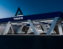THACO Branding Indentity: THACO Showroom Concept