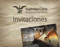 Invitaciones SCJN