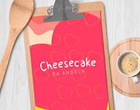 Cheesecake da Angela - Brand Identity