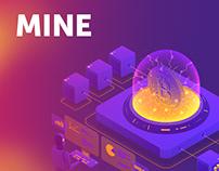 Mine - майнинг