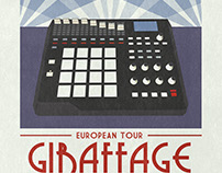Giraffage: European Tour 2016