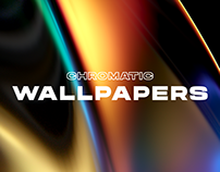 """CHROMATIC WALLPAPERS"" personal artwork"