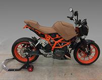 Clay motorbike 1:1