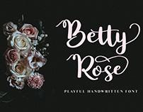 Betty Rose - Handwritten Font (Free Download)