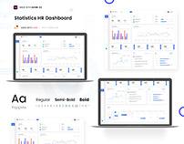 HR Statistics Dashboard | Free Source Download