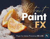 Abstract Paint FX - Photoshop Add-On