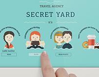Secret Yard Web Site