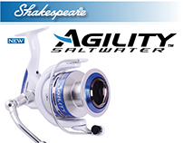 Shakespeare Agility Saltwater Spinning Reel