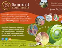 Samford Commons branding & communications