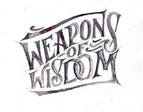 Weapons of Wisdom by Goshawaf