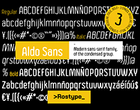 Aldo Sans - Free Font