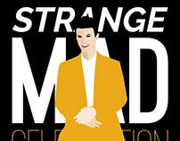 Strange Mad Celebration (Bowie) - Visual, poster