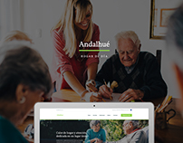 Andalhué - Hogar de Día / Day Care Centre - web design