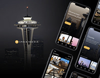 Space Needle Experience mobile app
