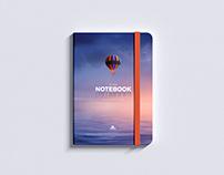 Free PSD Notepad Mockup