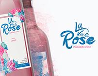 """""""La Vie En Rose"""" wine packaging"""