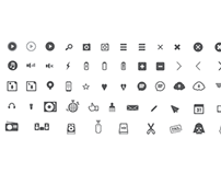 Custom Icon Set WIP