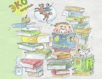 Illustration Competition - Eco Notebooks