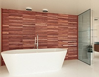 Tara Wooden Wall | Walnut