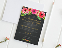 Matta Wedding Invitation