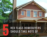 5 Red Flags Homebuyers Should Take Note Of