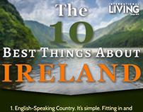 Ireland Infographic International Living 2016