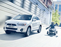 'Adventure Advanced' press campaign - Mitsubishi ASX