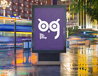 """The Owl Group"" advertising agency logo"