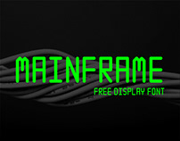 Free Mainframe Display Font