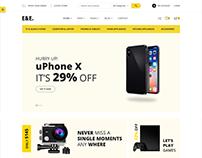 E&E - Electronics eCommerce Bootstrap4 HTML Template