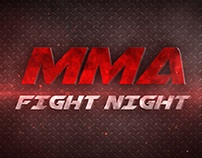 MMA Fight Night - After Effects Template