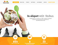 Tutti Frutti Frozen Yogurt One Page Franchise