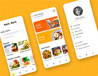 RestoRent - Restaurant Table& Food Booking App