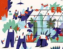 Various illustrations. Set 13.