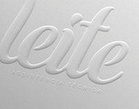 Redesign de Logotipo Assistência Técnica Leite