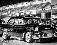 D.C. Car Show B&W