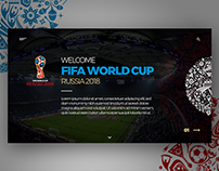RUSSIA 2018 - LANDING PAGE